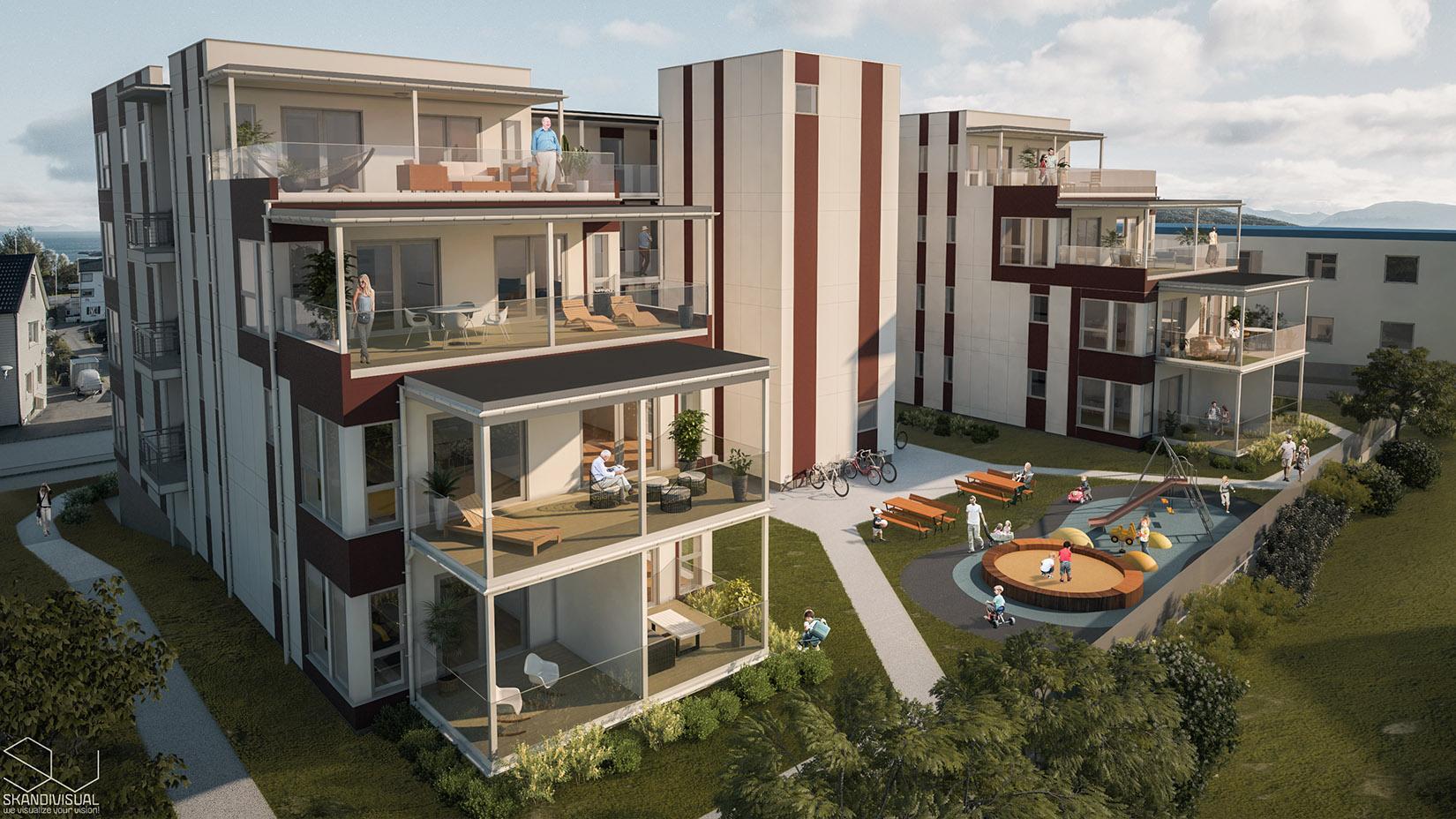 Apartments in Hartstad