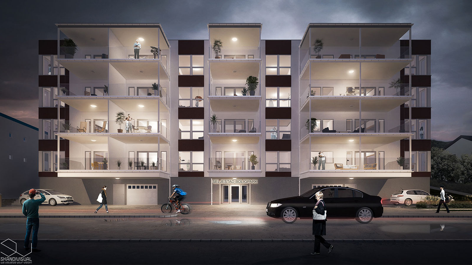 Apartments in Harstad