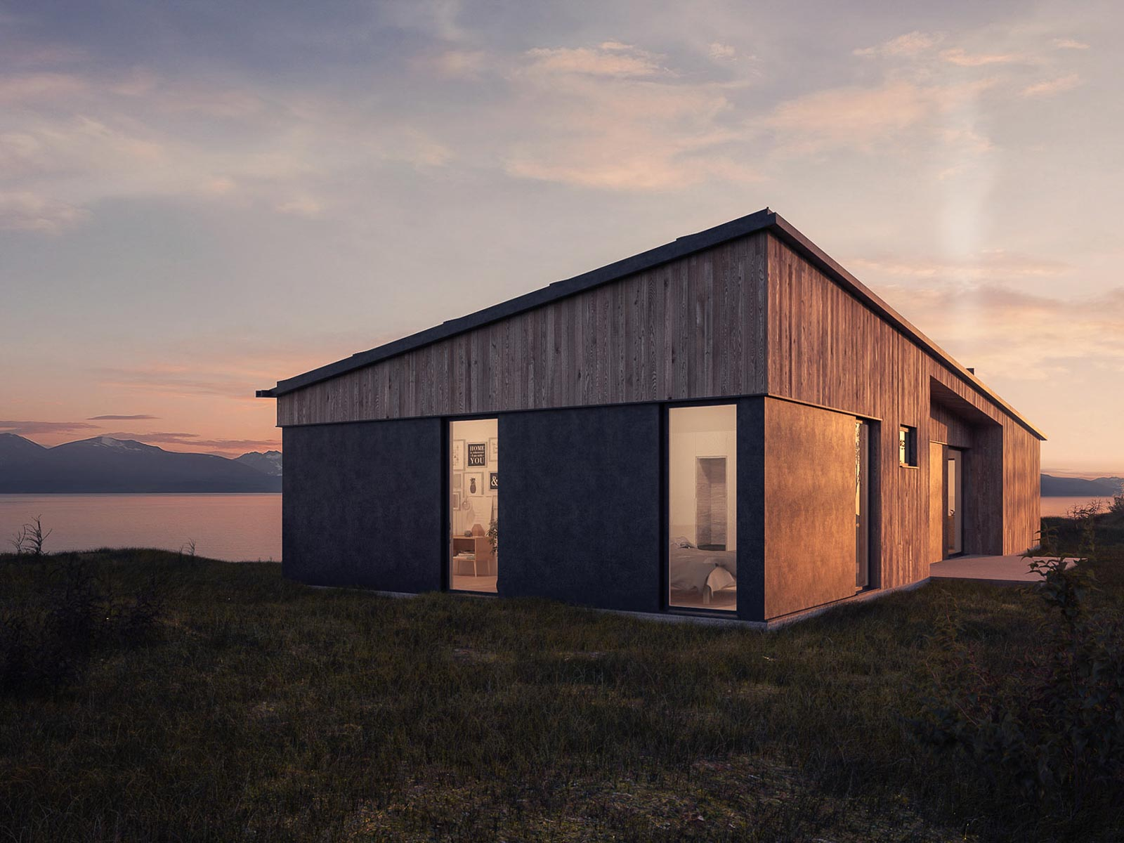 skandivisual-3d-visualization-exterior-cabin-norway