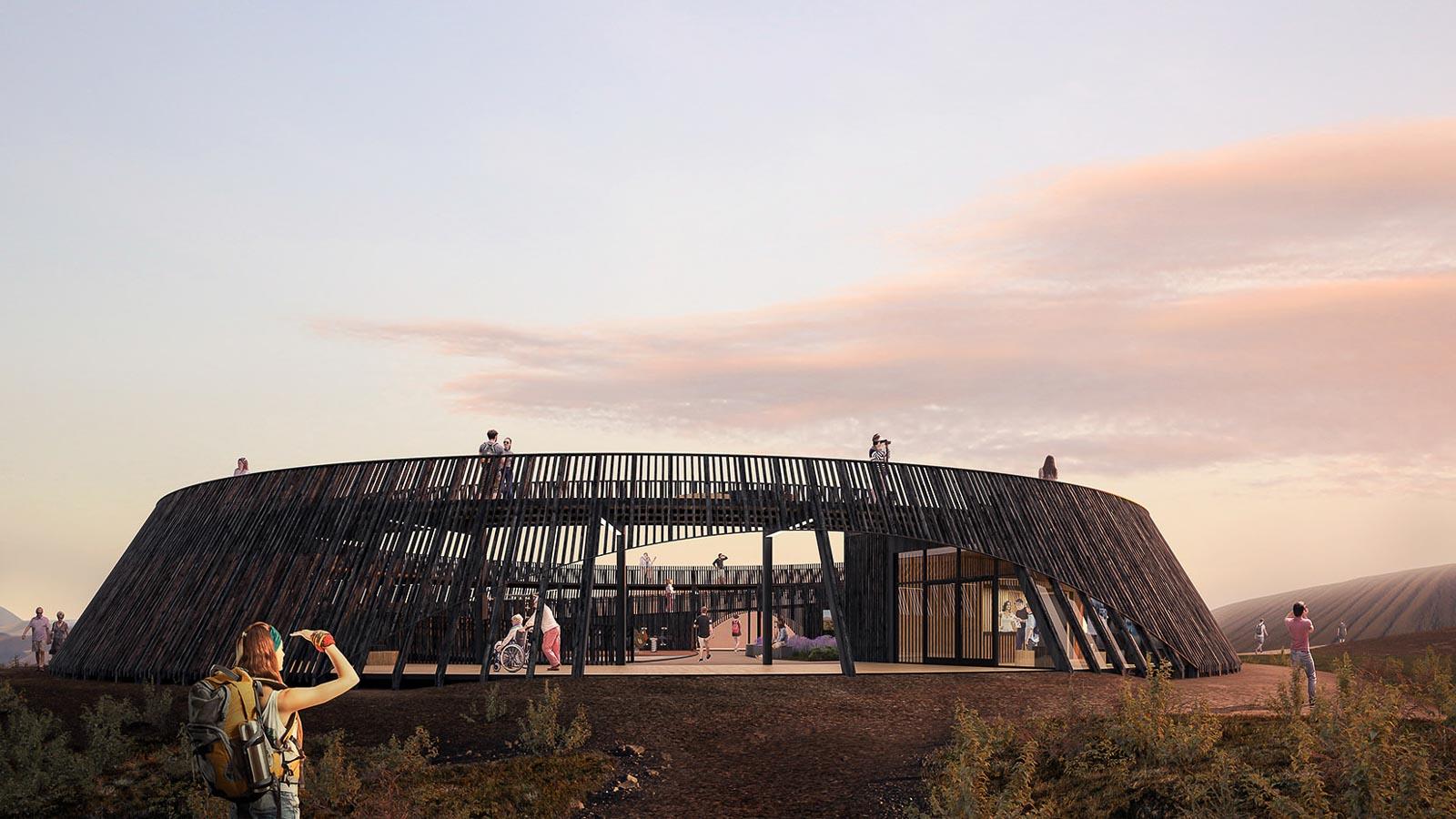 Black Lava Field Visitor Centre
