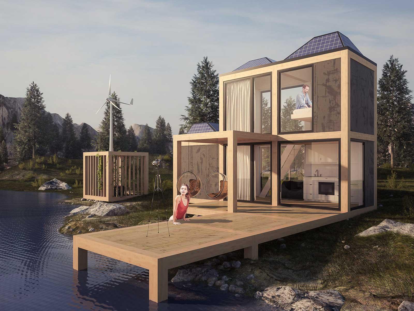 Modulbasert hjem konsept